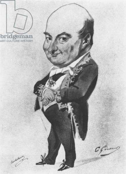 Charles Augustin Sainte-Beuve (litho)