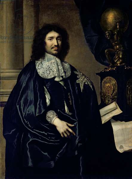 Portrait of Jean-Baptiste Colbert de Torcy (1619-83) 1666 (oil on canvas)