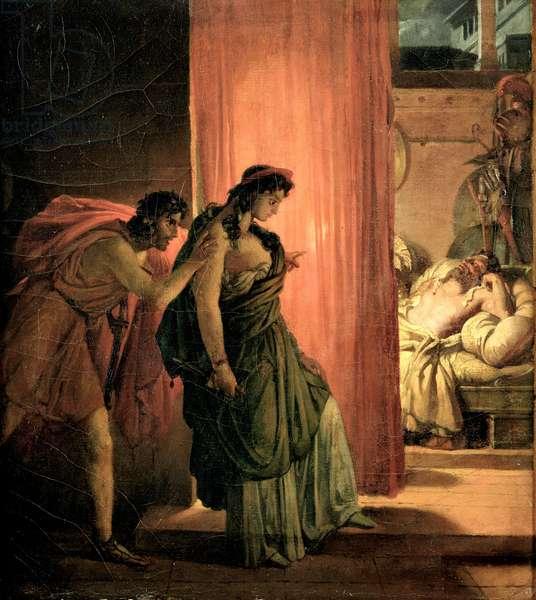 Clytemnestra, c.1817 (oil on canvas)