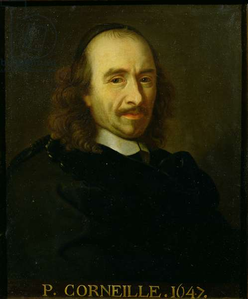 Pierre de Corneille (1606-94) 1647 (oil on canvas)