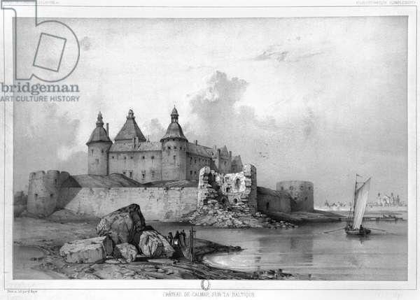 Kalmar Castle (litho)
