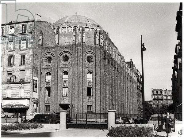 Church of Saint-Esprit, built 1928-35d(b/w photo)
