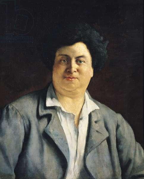 Portrait of Alexandre Dumas pere (1802-70), 1878 (oil on canvas)