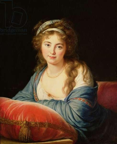 The Countess Catherine Vassilievna Skavronskaia (1761-1869) 1796 (oil on canvas)
