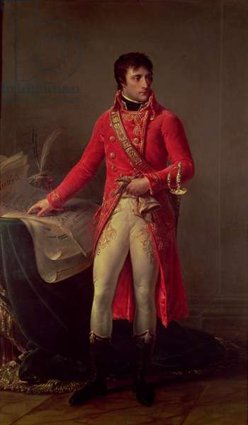 Napoleon Bonaparte (1769-1821) First Consul, 1802 (oil on canvas)