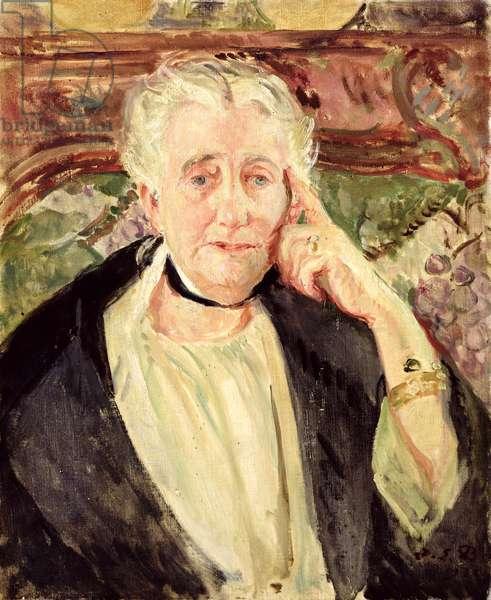 Caroline Franklin Groult, 1923 (oil on canvas)