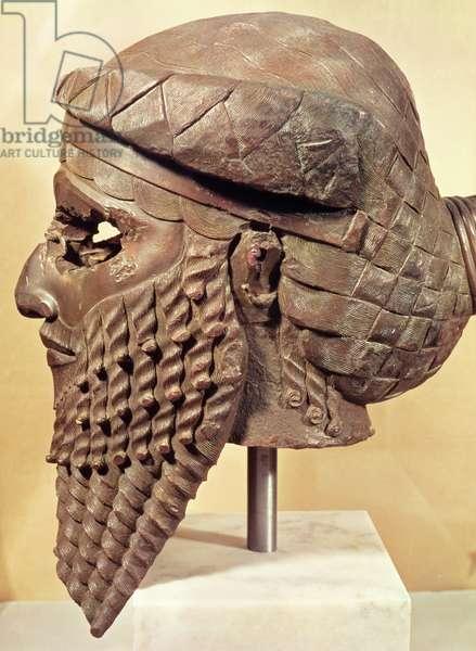 Head of Sargon I (c.2334-2279 BC) 2400-2200 BC (copper) (see also 187024)