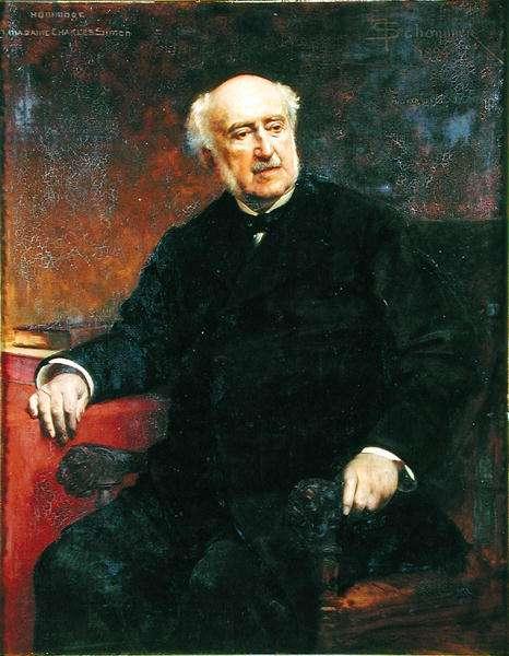 Francois-Jules Simon-Suisse (1814-96) 1894 (oil on canvas)