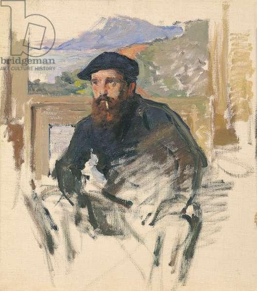 Portrait of Monet c.1884 (oil on canvas)
