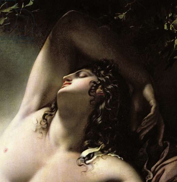 The Sleep of Endymion, 1791 (oil on canvas) (detail)