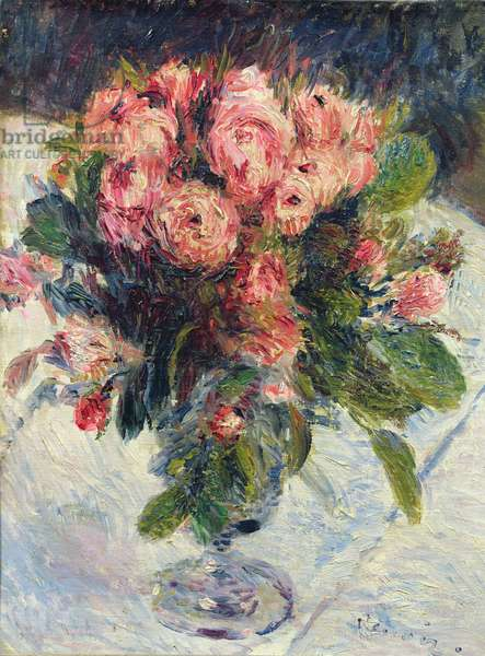 Moss-Roses, c.1890 (oil on canvas)