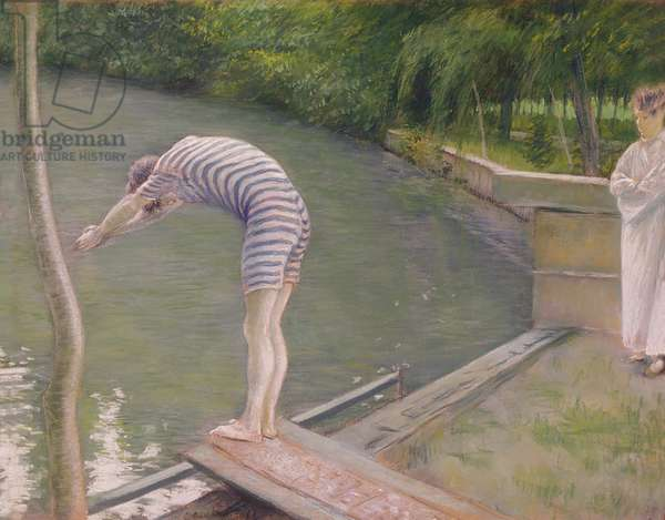 The Bather, or The Diver, 1877 (oil on canvas)