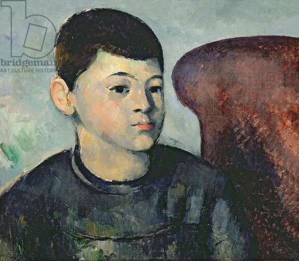 Portrait of the artist's son, 1881-82 (oil on canvas) (also see 287554)