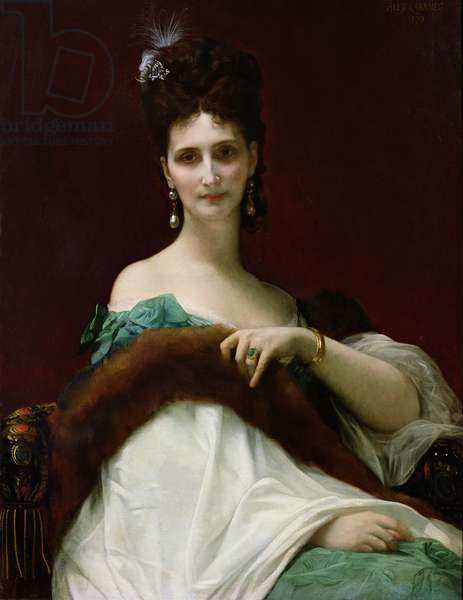 The Countess of Keller, 1873 (oil on canvas)