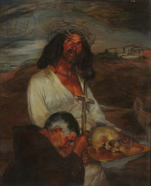 The Penitents of Roda, 1902 (oil on canvas)