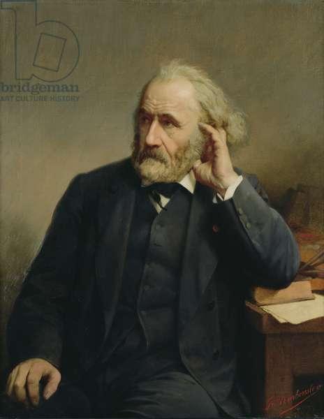 Portrait of Joseph Chenavard (1807-95) (oil on canvas)