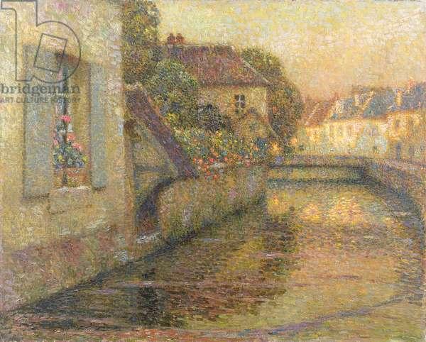 The Bridge at Gisors (oil on canvas)
