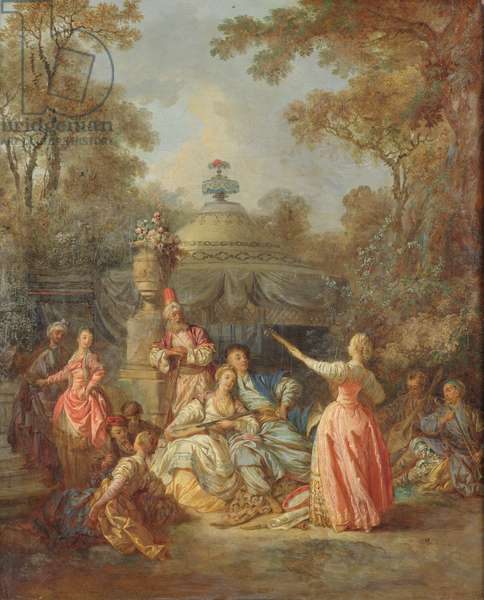 Russian Concert, 1770 (oil on canvas)