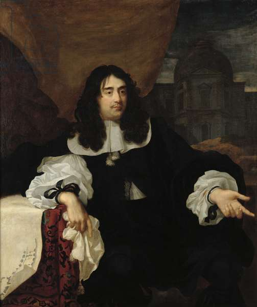 Portrait of Antoine de Ratabon, 1660 (oil on canvas)