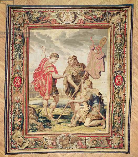 The Labarum, before 1663 (tapestry)