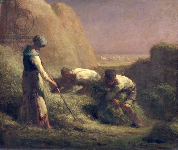 The Hay Trussers, 1850-51 (oil on canvas)