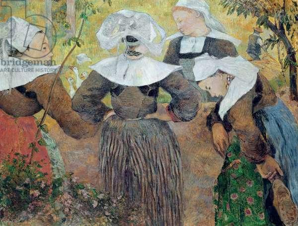 Four Breton Women, 1886 (oil on canvas)