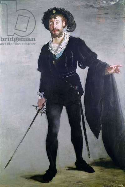 Jean Baptiste Faure (1830-1914) as Hamlet, 1877 (oil on canvas)