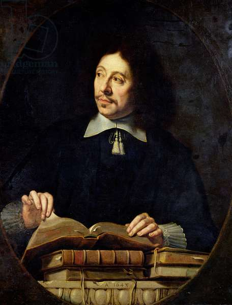 Portrait presumed to be Etienne Delafons, 1648 (oil on canvas)