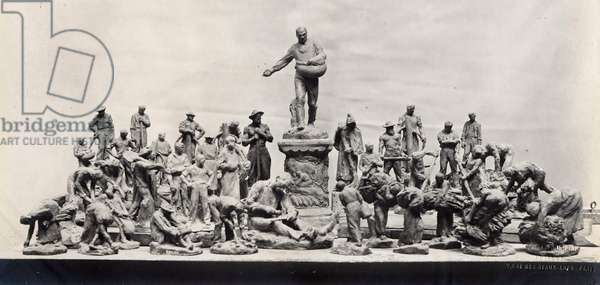 Monument to the Workers (B/W photo, 1902-1904)