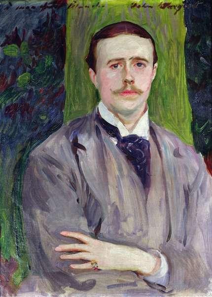 Portrait of Jacques-Emile Blanche (1861-1942) (oil on canvas)