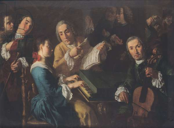The Concert, c.1755 (oil on canvas)