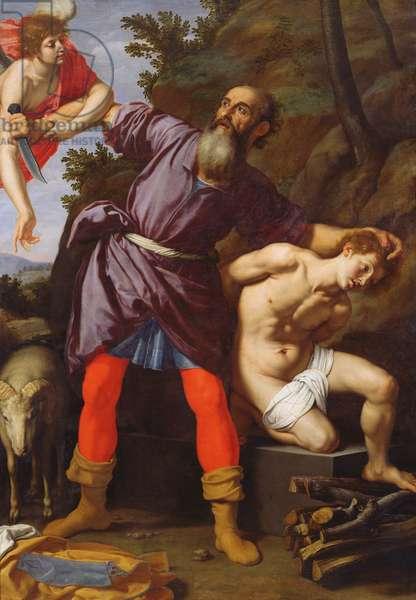 The Sacrifice of Abraham (oil on canvas)