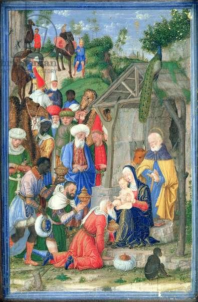 The Adoration of the Magi (vellum)