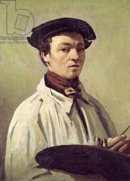 Self Portrait, c.1840 (oil on canvas)