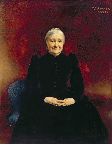 Madame Bonnat, the artist's mother, 1893 (oil on canvas)