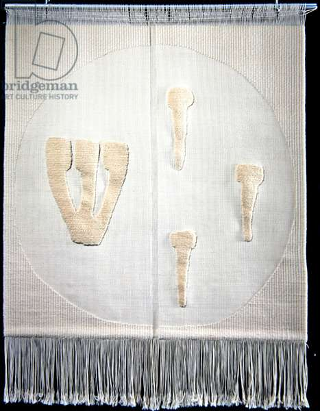 Shabbat, or The Seventh Day, 1964 (woven in 1976) (wool)