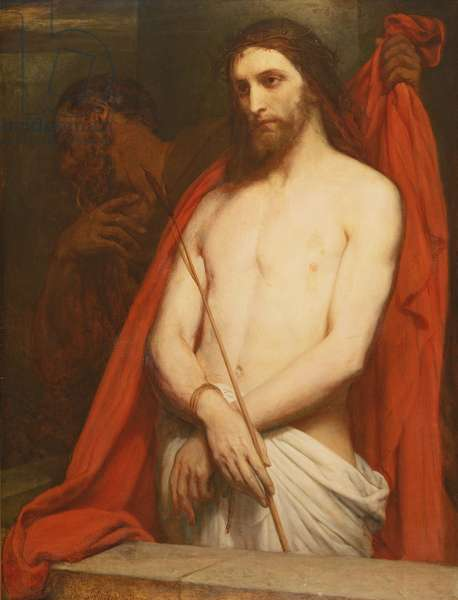 Christ with the Reed (oil on canvas)
