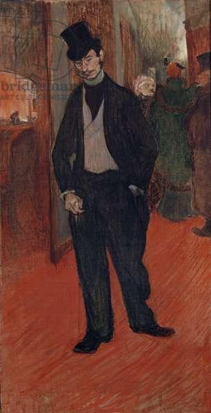 Doctor Gabriel Tapié de Céleyran in a Theatre Hall, 1894 (oil on canvas)