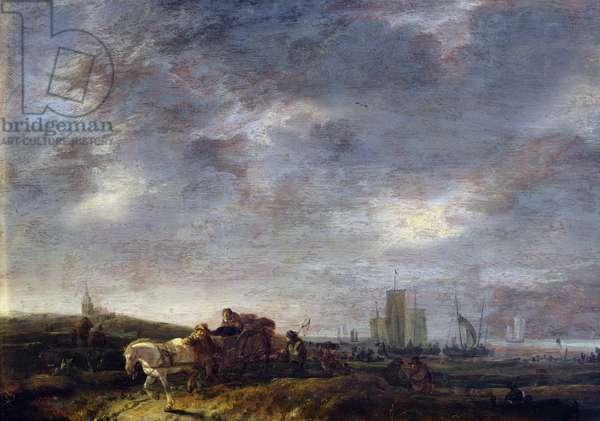 Return of the Fishermen, 1646 (oil on panel)