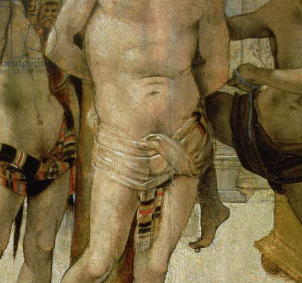 Flagellation of Christ (oil on panel) (detail of 57541)