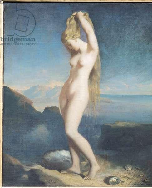 Venus Anadyomene, or Venus of the Sea, 1838 (oil on canvas)