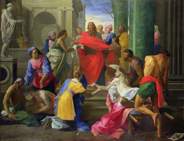 Miracles of St. Paul at Ephesus, 1693 (oil on canvas)