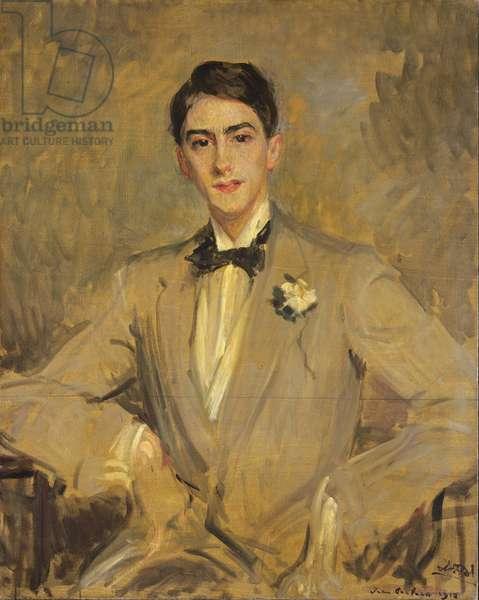 Study for a Portrait of Jean Cocteau (1889-1963) 1912 (oil on canvas)