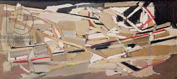 Grey composition, 1948 (oil on canvas)