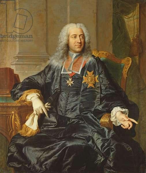 Marc-Pierre de Voyer-de-Paulmy (1696-1764) Count of Argenson (oil on canvas)