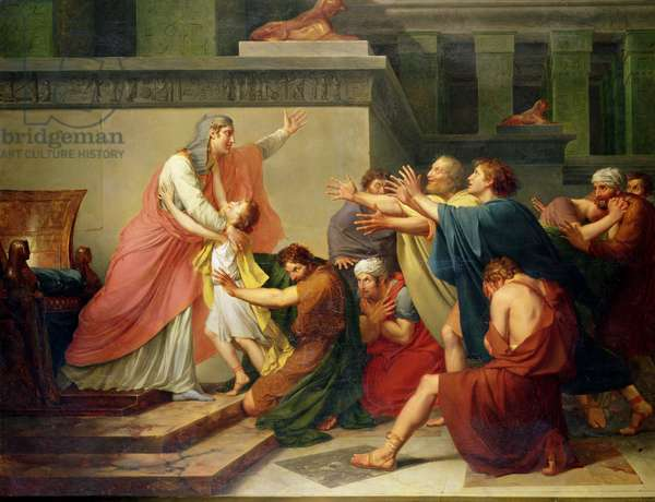 Joseph Recognised by his Brothers (oil on canvas)