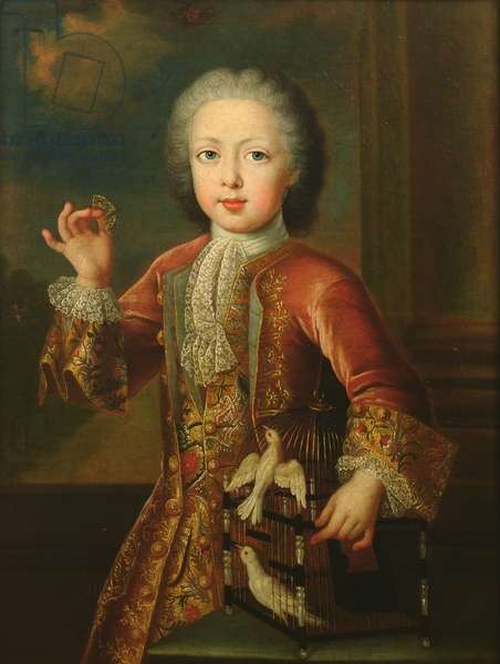 Charles-Alexandre (1712-80) Prince of Lorraine (oil on canvas)