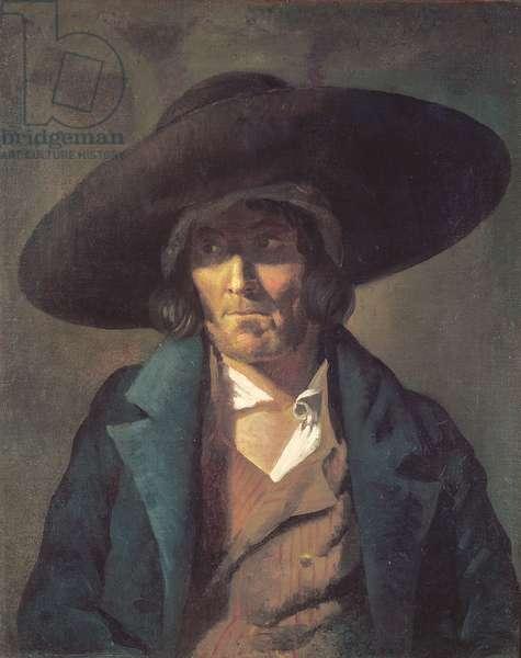 Portrait of a Man, The Vendean, c.1822-23 (oil on canvas)