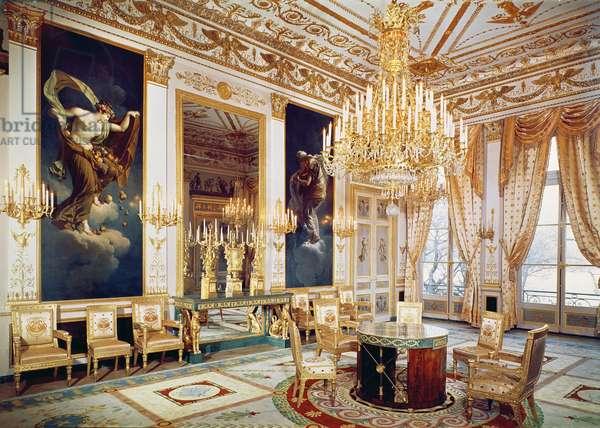 Interior of the Salon des Quatre Saisons (photo)