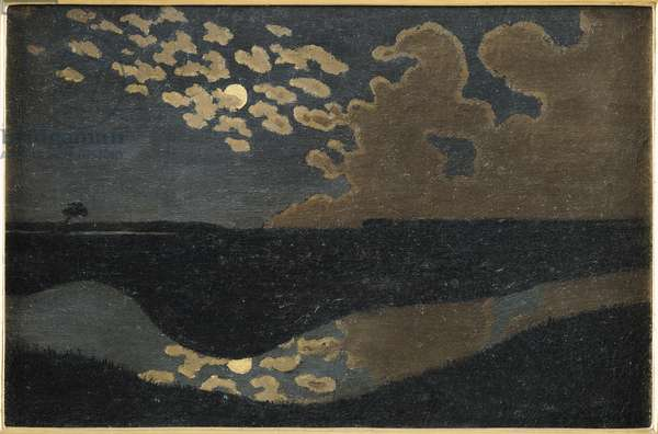 Moonlight, 1894 (oil on canvas)